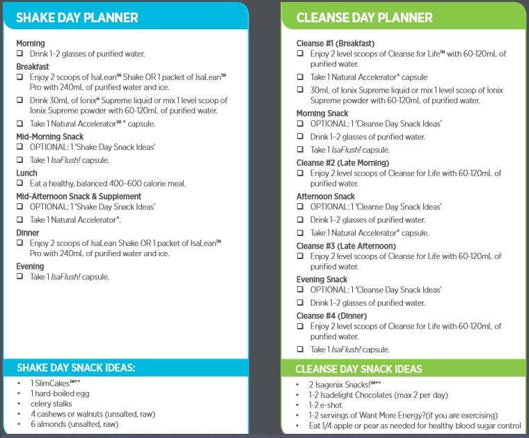 isagenix-cleanse-day-planner
