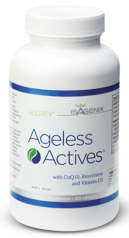 Isagenix Ageless Actives