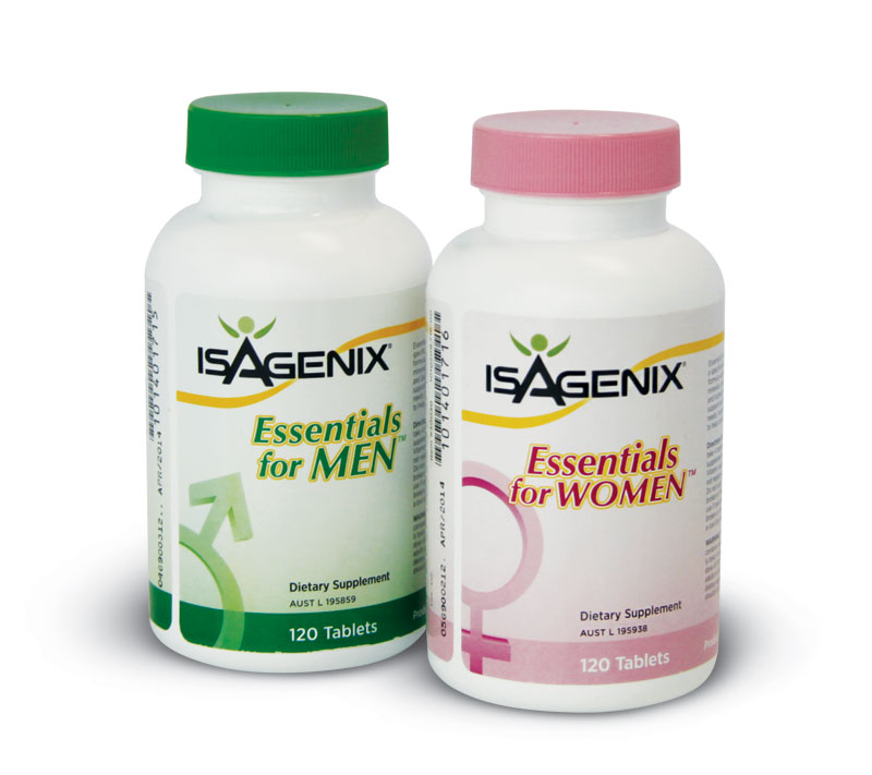 Isagenix Essentials for Men & Women