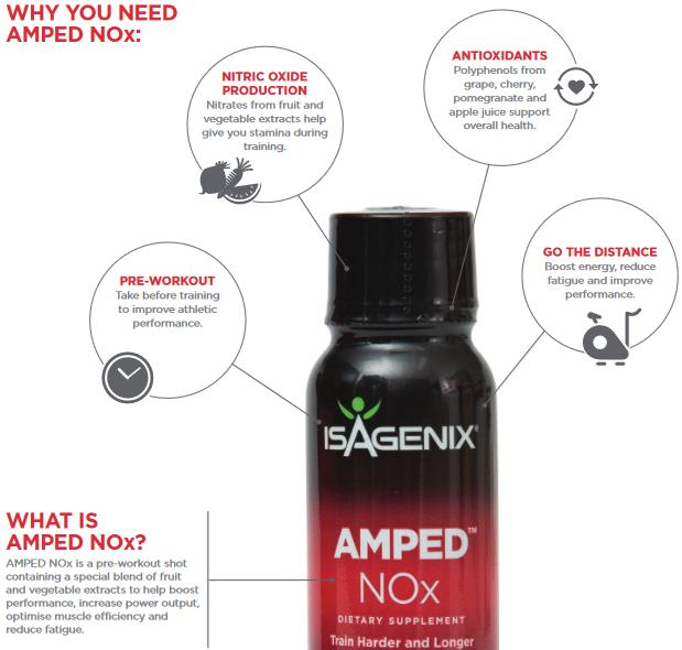 Benefits of AMPED NOx