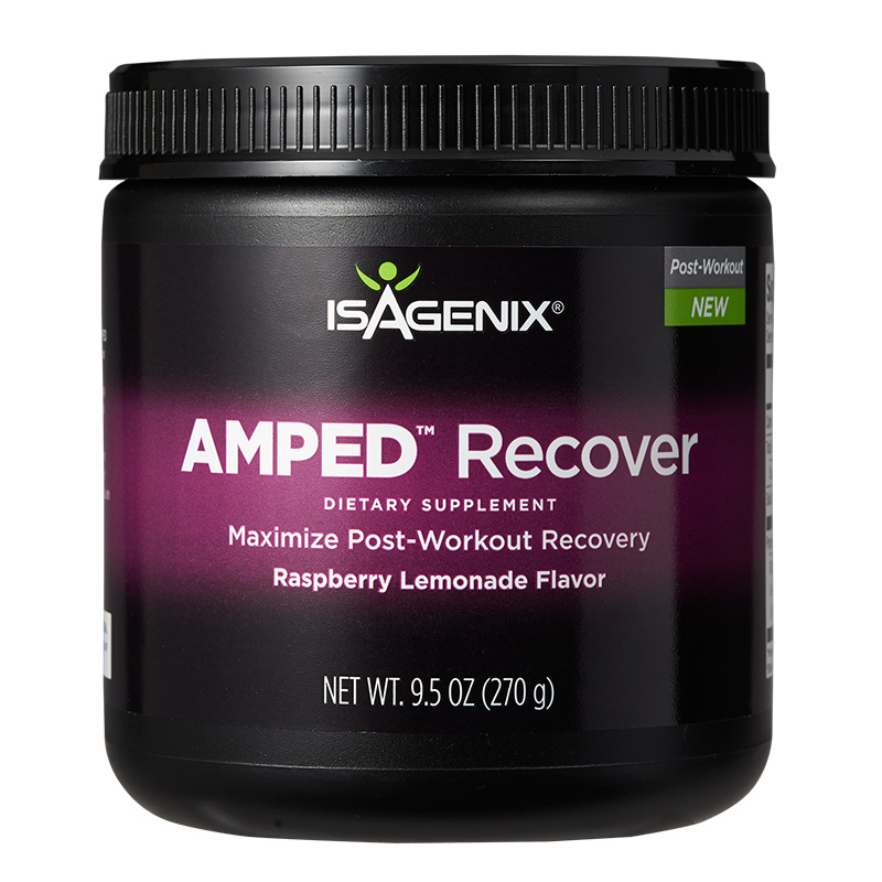 Isagenix Amped Recover Maximise Your Post Workout Recovery