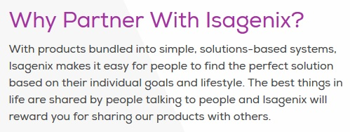 Why Partner With Isagenix