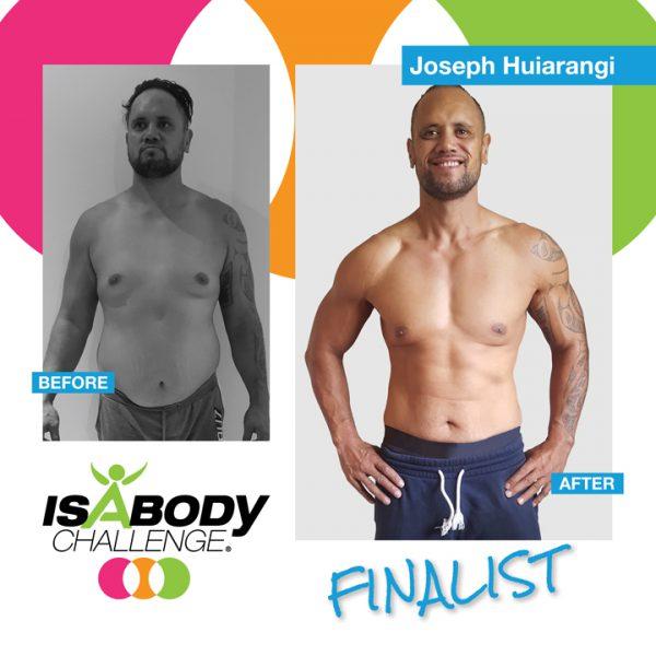 Joseph Huiarangi Isagenix Review and Transformation