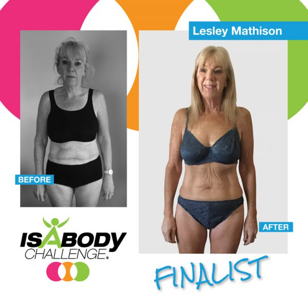 Lesley Mathison Isagenix Review and Transformation
