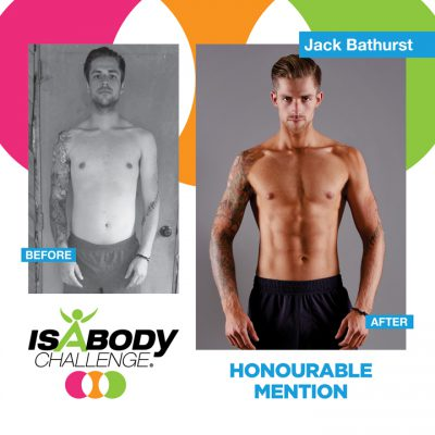 Jack Bathurst Honourable Isagenix Review and Transformation