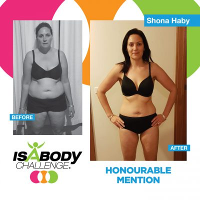 Shona Haby Isagenix Review and Transformation
