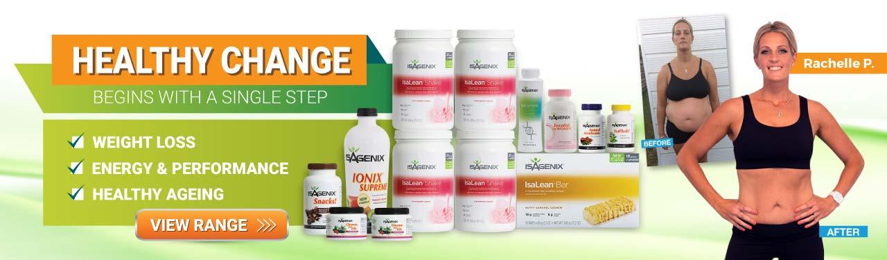 Begin Your Healthy Change with Isagenix