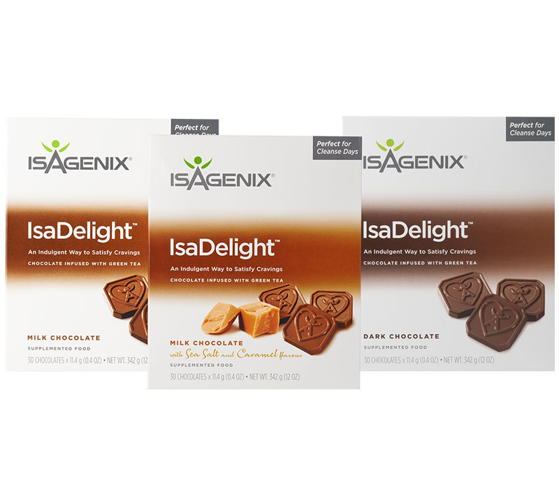Isagenix Isadelights Now In 3 Flavours Inc Caramel
