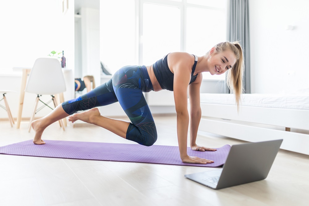Home workouts have increased in popularity