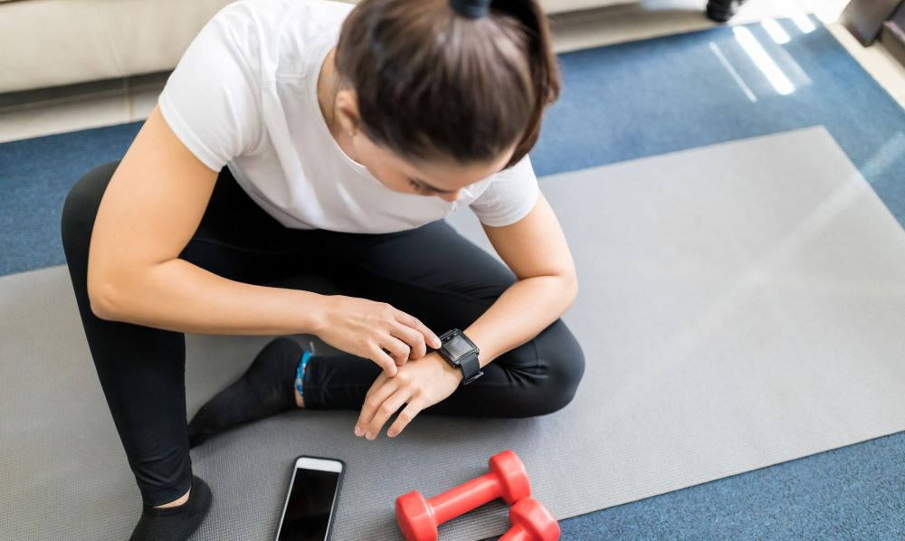The first indicator that your workout is too easy is your heart rate does not increase.