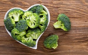Broccoli is low in calories but contains plenty of nutrients and antioxidants.