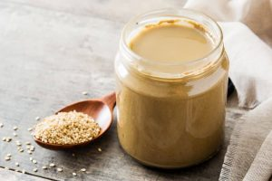 Tahini is high in antioxidants, which helps reduce stress.